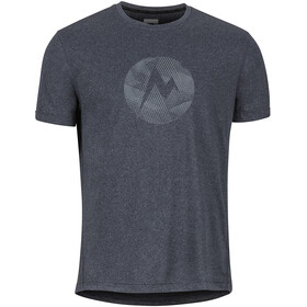 Marmot Transporter SS Tee Herr new black heather